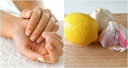 Mocniejsze paznokcie - jak korzystać z czosnku i cytryny, aby poprawić ich stan?