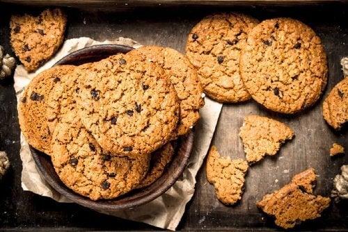 Owsiane ciasteczka – 3 przepisy bez użycia drożdży