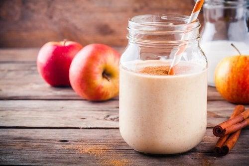 smoothie z jabłka