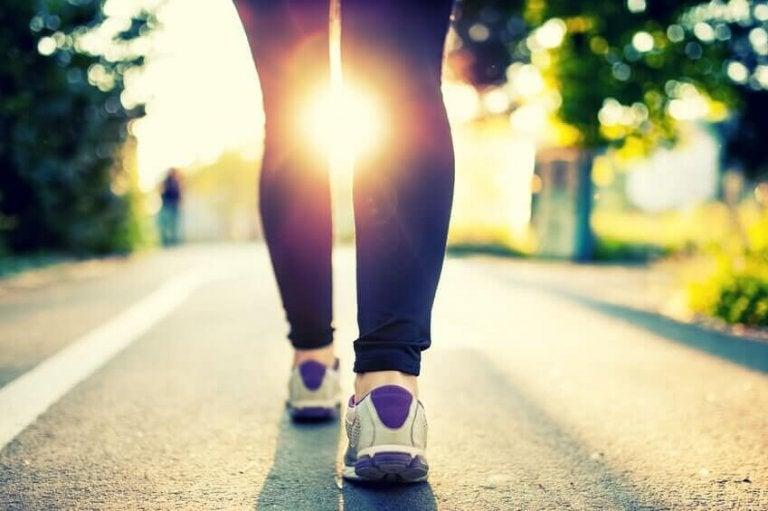 Chodzenie na spacer.