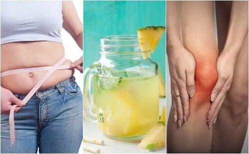 Woda ananasowa - 5 powodów, dla których warto ją pić