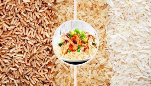 Ryż z warzywami i chia: mało kalorii i cholesterolu