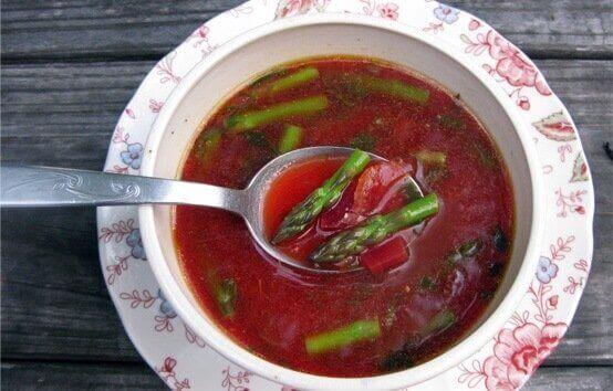 Zupa - dania wegańskie