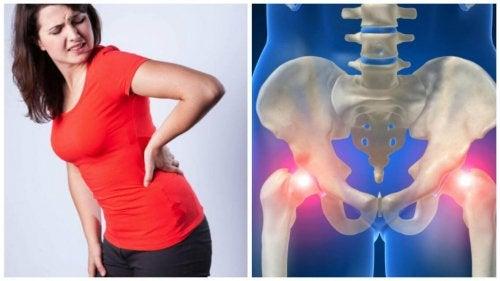 kobieta i ból stawu biodrowego