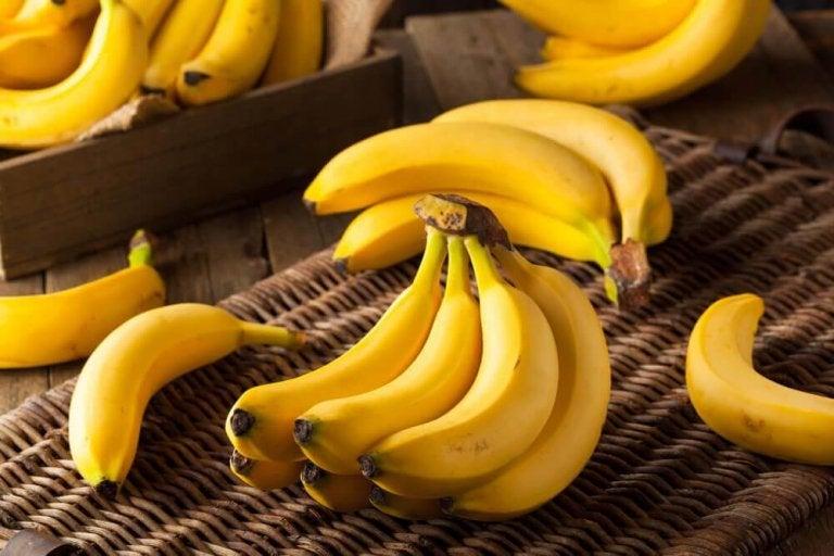 Kiście bananów.