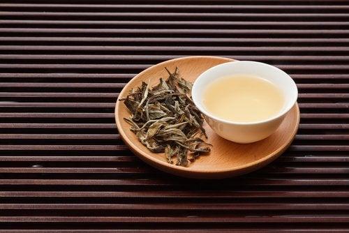Biała herbata.