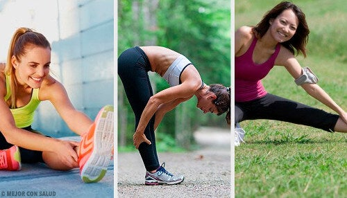 Ćwiczenia na elastyczność nóg.