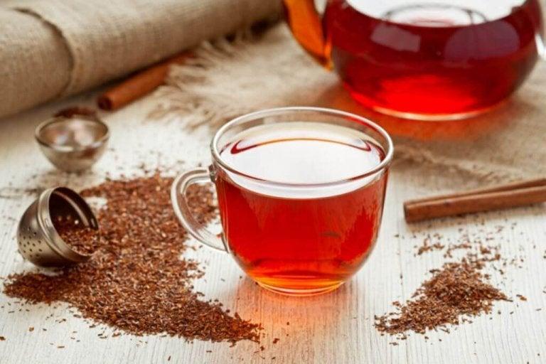 Czerwona herbata.