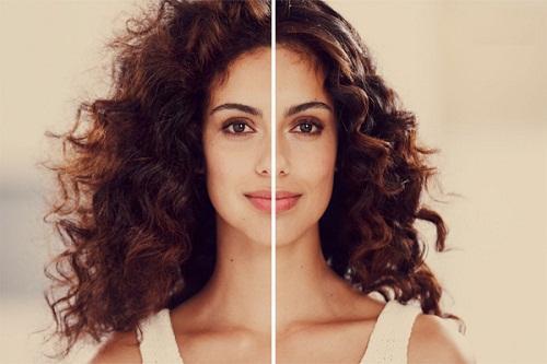 elektryzujące się włosy kobieta