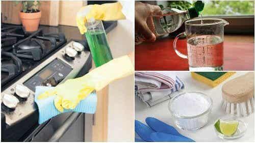 Jak odtłuścić kuchenkę: 5 ekologicznych rozwiązań