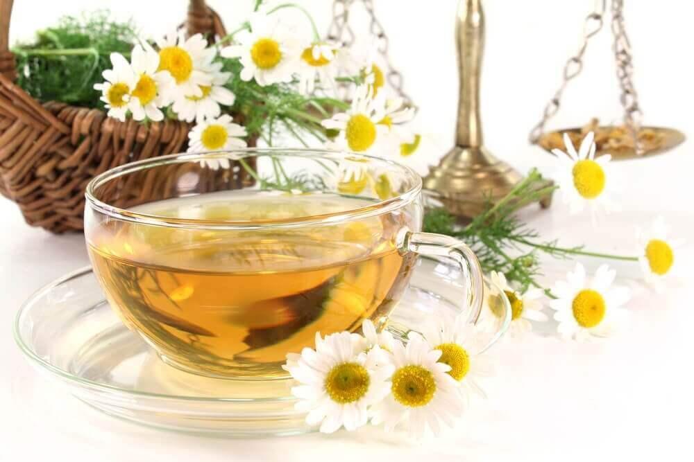 herbata z rumianku na biegunkę