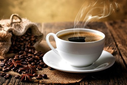 Kawa z ghee.