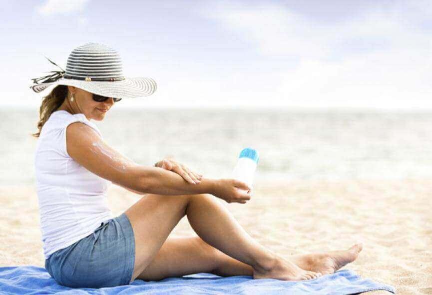 Chroń swoją skórę przed słońcem.