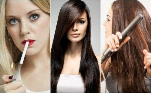 Kondycja włosów – 8 niezdrowych nawyków