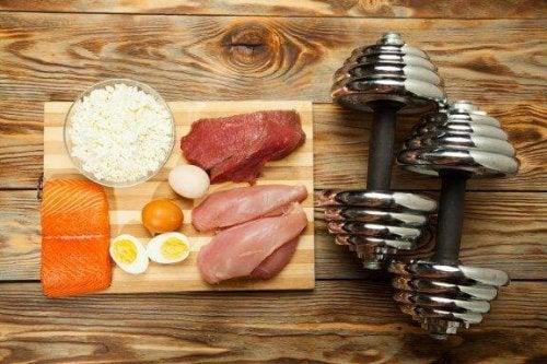 Masa mięśniowa - 10 potrzebnych pokarmów