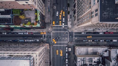 Ruch na ulicach miasta