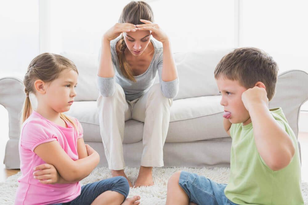 obrażone dzieci