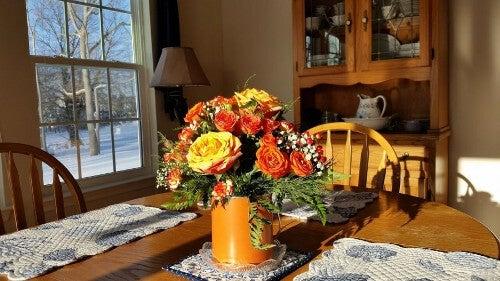 Ozdoby na stół - 7 rewelacyjnych pomysłów
