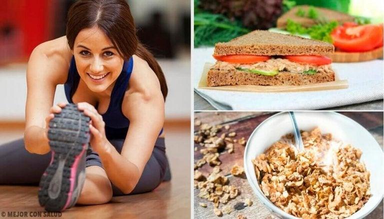 Najlepsze śniadania - 7 opcji przed treningiem