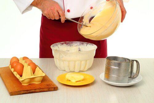Przygotowanie ciasta.