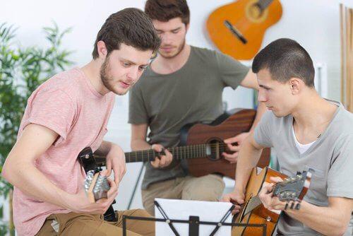 Zajęcia muzyczne.