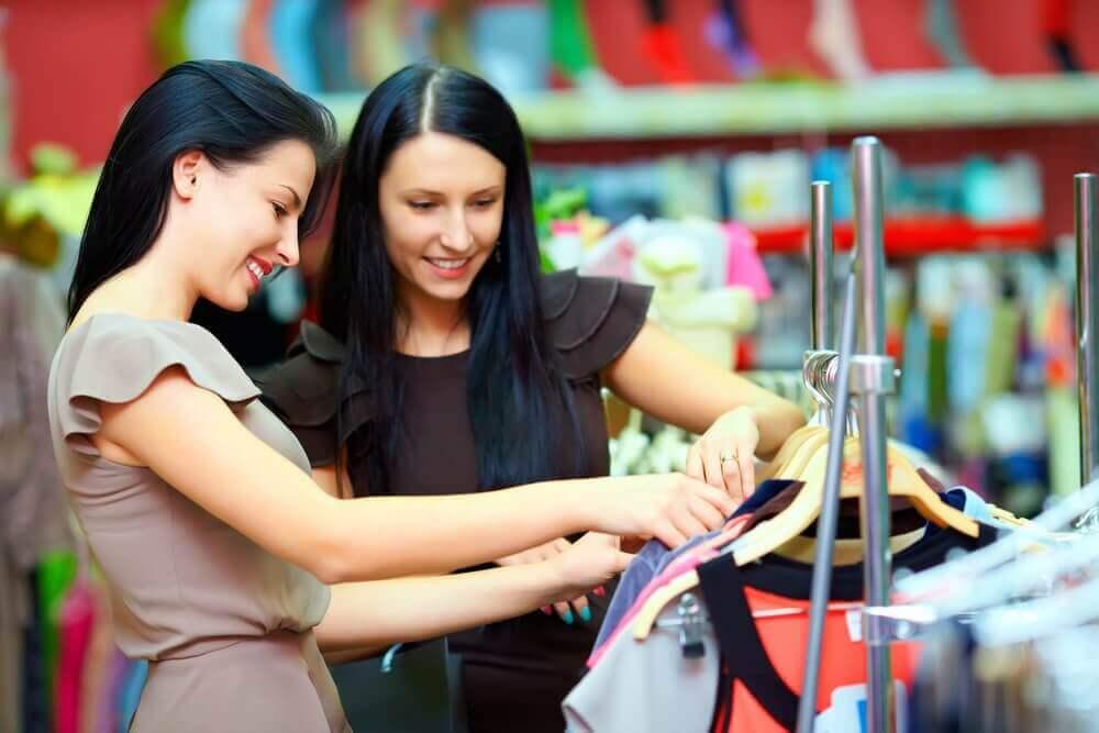 kupowanie odzieży
