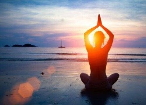 Zalecany czas praktyki jogi.