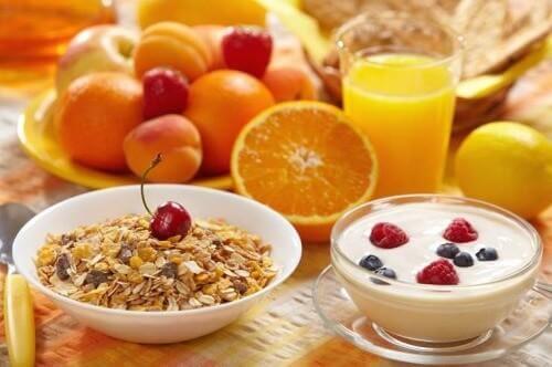 śniadania musli utrata wagi ciała