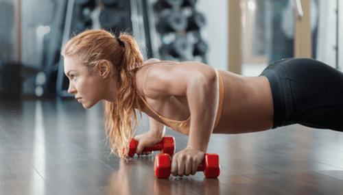 Ćwiczenia siłowe.