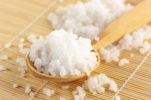 gruba gorzka sól