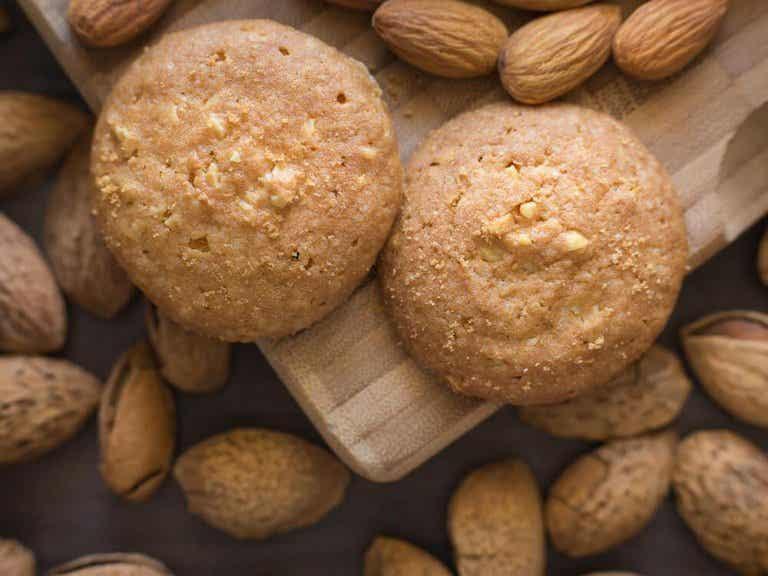 Ciastka kokosowo-migdałowe - proste i zdrowe