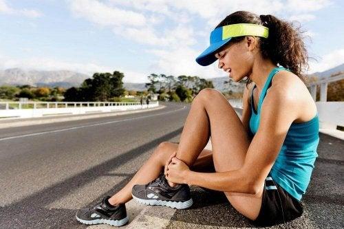 przeciążenia mięśni równowaga