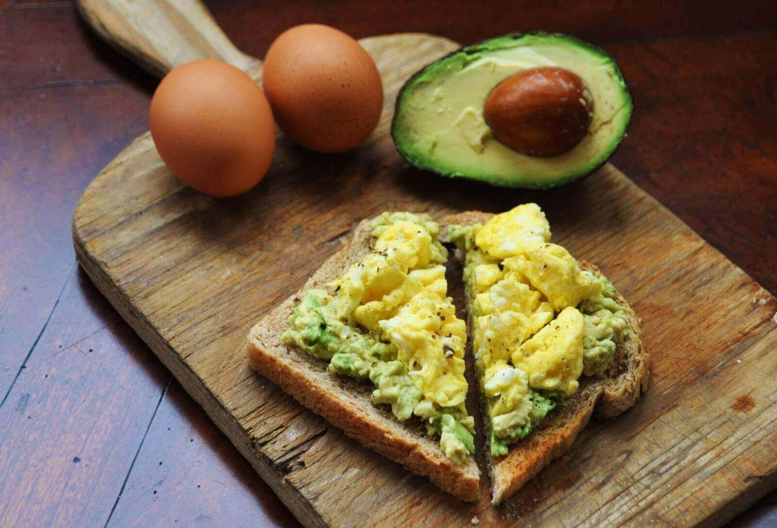 awokado na śniadanie