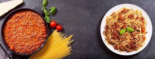 Spaghetti carbonara z USA