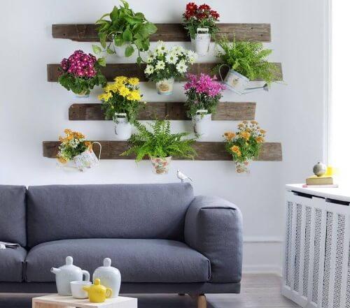 Kwiaty doniczkowe potrafią regulować temperaturę pomieszczeń.