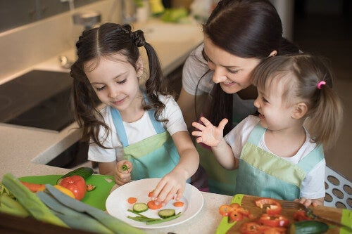 Warzywa wspomagają rozwój kości dziecka