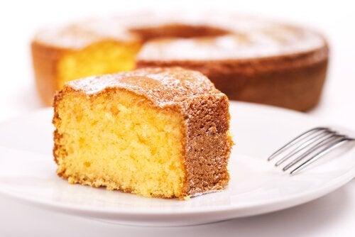 Gotowe ciasto.