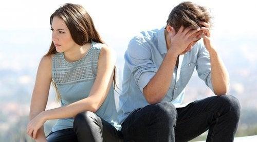 Kobieta i mężczyzna i brak wierności.