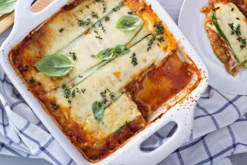 Lasagne bez makaronu: prosta wersja bezglutenowa