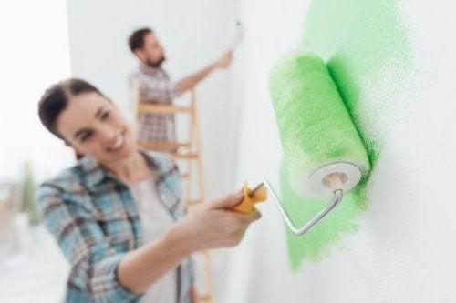 Malowanie ścian – błędy, których należy unikać