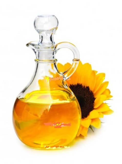Olej słonecznikowy i pokarmy bogate w witaminę E