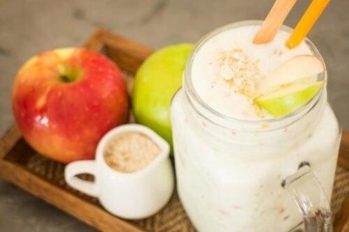 Owsianka i jabłka: zdrowe serce i układ krążenia