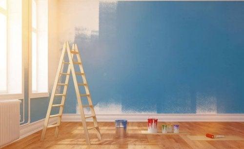 Remont w domu - malowanie ścian