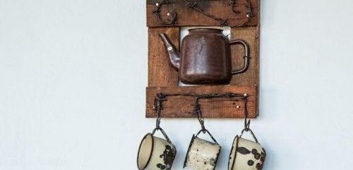 rustykalna ozdoba kuchnia renowacja