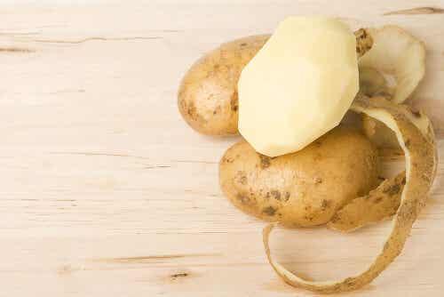 Skórka z ziemniaka - 4 lekarstwa, których nie możesz przegapić