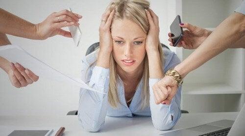 Stres w pracy.
