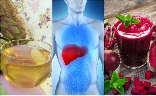 Wątroba: zadbaj o nią za pomocą 5 naturalnych środków
