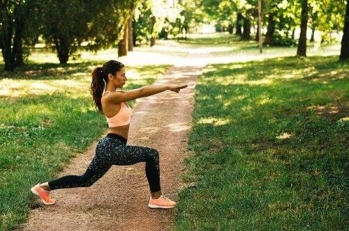 Zaplanuj treningi połączone ze zdrową dietą.