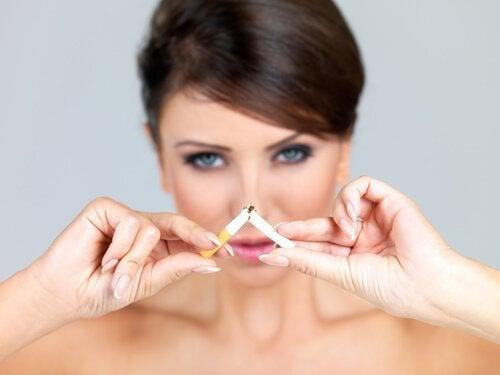 Twoje zdrowie znacznie się poprawi jeśli rzucisz palenie.