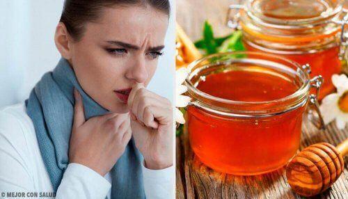Miód i ciepła woda na ból gardła